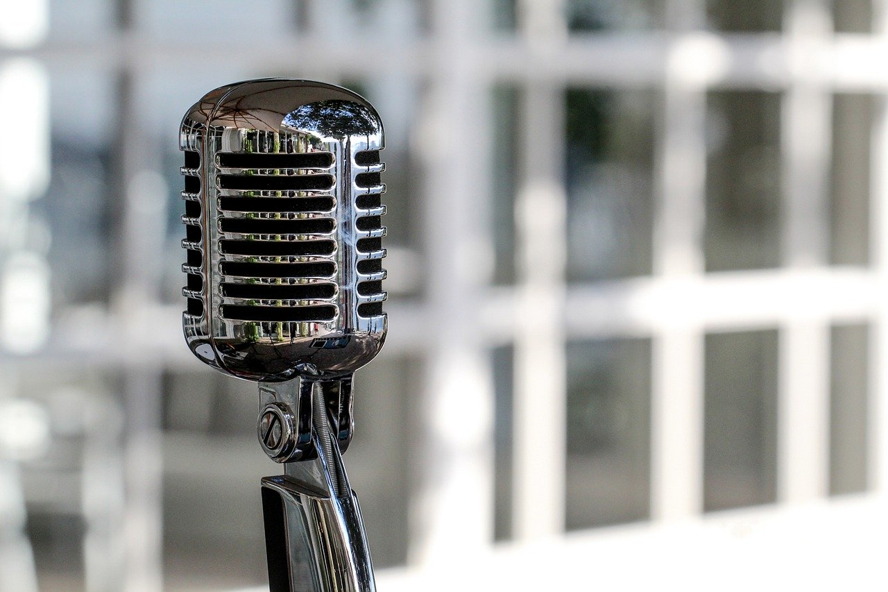 Microphone Audio Music Radio Sound  - Fabrizio_65 / Pixabay