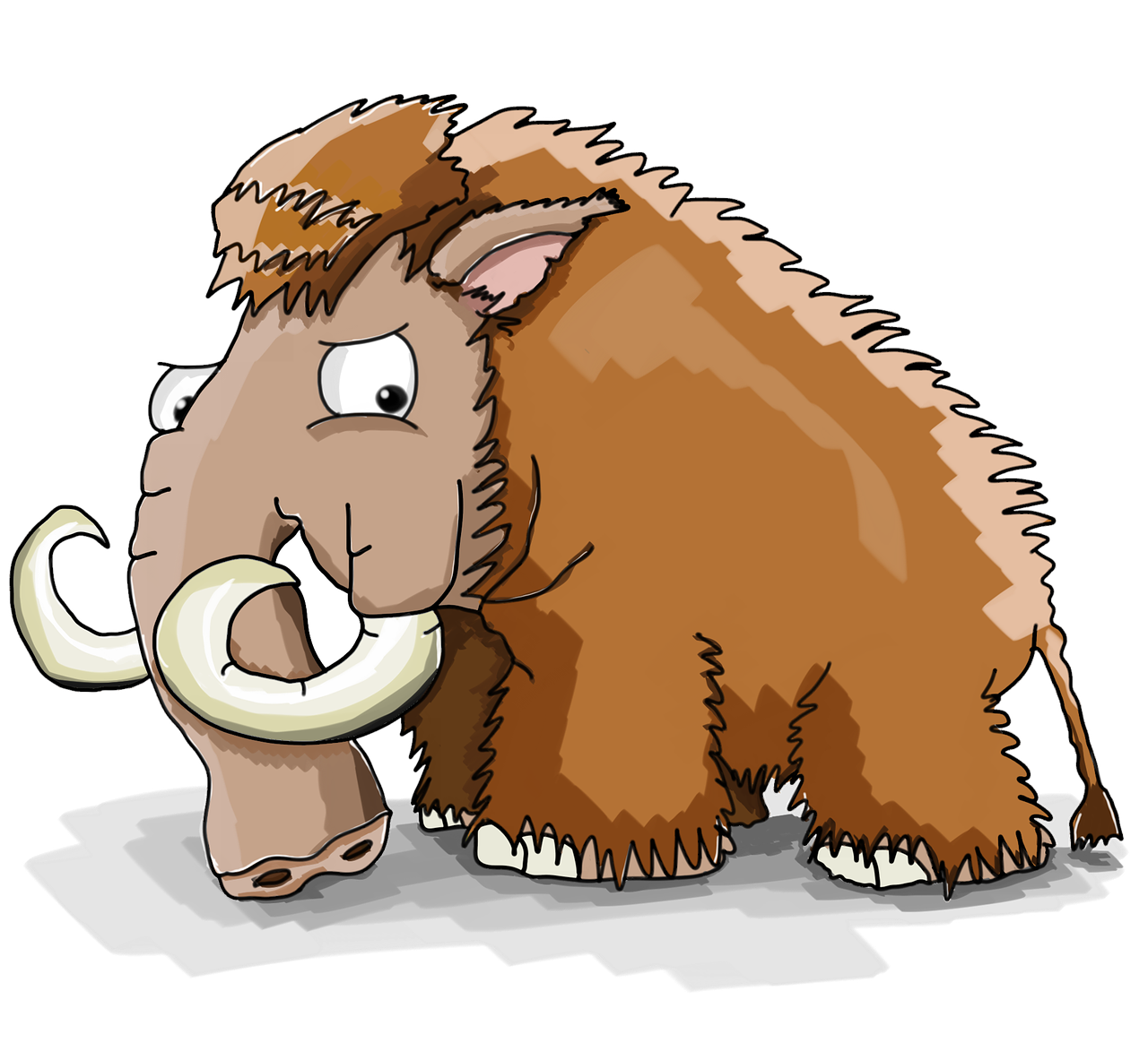 Mammoth Cool Cartoon Strongman  - creozavr / Pixabay